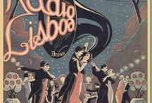 Old Illustrations and Archive Photos of Lisbon