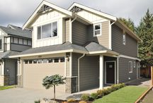 The Arbutus at Katie's Pond / This 1,400 sq. ft. homes has 3 bedrooms and 3 bathrooms with a double car garage.
