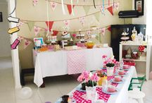 Kendalls 5th birthday party / by Karaly Van Goethen