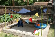 Детская зона отдыха на даче