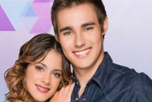 Martina Stoessel and Jorge Blancho