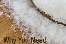 Magnesium/Epsom Salt Benefits