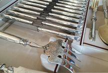 Canteen of cutlery - Besteckset / Lionhead antique interior design