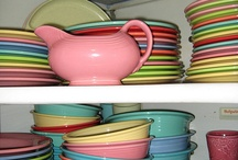 fiestaware / dinnerware / by April Young
