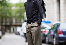 17aw mens wide pants