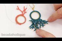 orecchini pseudo corallo