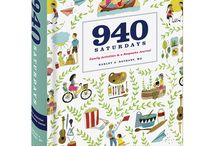 "940 Saturdays - The New Book! / The best way to make the most of every weekend with your kids, from birth to college. The ""940 Saturdays: Family Activities and a Keepsake Journal"" available for pre-order now. From Random House, release date September 2, 2014"