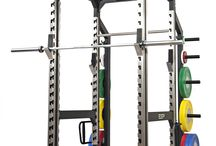 ESP Fitness Racks & Accessories / ESP Fitness TotalPower & TotalFreedom Racks with integrated accessories