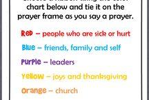 Creative Prayer Ideas