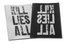 typography experiment zine