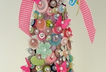 Inspire ♥ Embellishment & Bling / Buttons / Glitter / Beads / Ribbon. Basically, it's BLING.  And I love bling.  And if I can MAKE bling, that's even better.  Not to mention, I hoard this kind of stuff.  Neatly organized, I might say.  But there's never enough bling... / by Marilyn Cooper