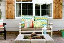 Home Design: Outdoor Spaces / Backyard, front yard, front porch and gardening