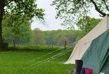 camping en vakantie