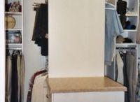 Storage! / Renovating closets