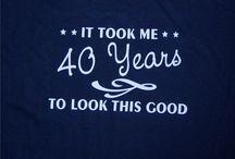 """Aniversary 's wishes / Todo mis deseos para mi  proximos 40""""s"""