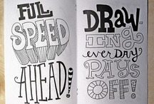 incredible hand lettering | typography