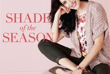 cleo | Shade of the Season: Olive / We're loving olive green in our spring collection right now. It's a fresh yet subtle shade of green complimenting the beautiful florals of the season. Pair olive green pieces with calm and inviting colours of soft pink, clay, ivory, and warm beiges. Olive works well with your fav jeans too! Try olive over black for spring 2017.
