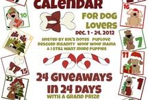 Advent Calendar for Dog Lovers