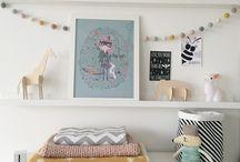Kids room wall decor ⎪ Dekorace stěny