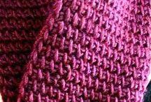 Hakking/Tunesian crochet
