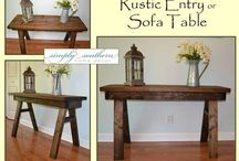 Entry & Sofa Tables / Simply Southern ~ Entry and sofa tables