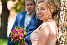 Svadobný portrét páru / Fotky svadobných párových portrétov