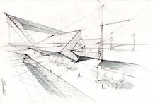 •architectural sketches