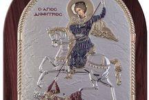 Saint George Greek Orthodox icon
