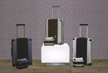 Sims 2 - Deco - Luggage
