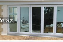 Bi-Folding Doors / Flexibility of having an open door near your garden.