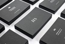 Inspire: Brand Applications / Applications of brands/logos, mostly corporate stationary, business cards, plus anything else