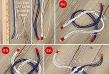 linen bracelet