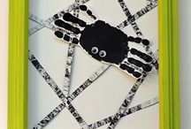 Spiders! / Ideas for a Spider-themed lesson plan at Leafling Preschool