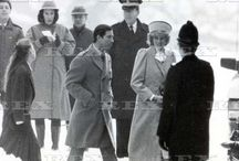 Charles and Diana at Sandringham