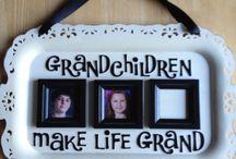 birthday/grandparents/parents etc crafts