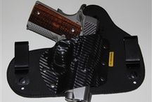 Remora Carbon Carry Holster / Our Carbon Carry holster features a unique combination or our Original Remora material with a handmade Kydex shell.  Inside or outside the waistband.
