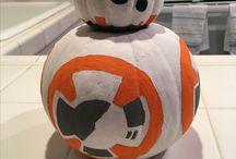 Star Wars Pumpkin / BB-8 Droid