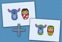 Beads/Perler/Hama Lilo and Stich