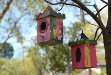 Summer Arts & Crafts ideas / Lots of great ideas for kids to work on during summer months.