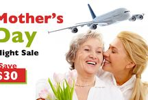 Mothers day flight Sale