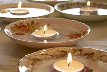 Ways with tealight candles / Inspiration for using tealight candles.