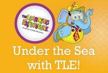 Under The Sea at TLE / Students at The Learning Experience will be diving into curriculum this month as they learn about sea creatures, coral, and sunken treasures that lie beneath the sea!
