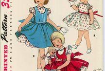 Ретро детские платья