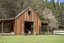 The Redwood Stables..... / A perfectly rustic spot for your wedding reception or special event.