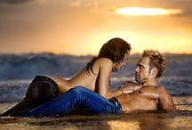 ♥ Couple • Beach