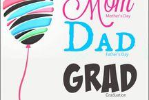 Mom, Dad, Grad Celebration