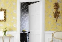 Yellow wallpapers / Let the sunshine in with yellow in your decorating scheme.