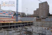 Construcción de Aparcamiento Privado - Private Parking Lot Construction / Construcción de Aparcamiento Privado - Private Parking Lot Construction