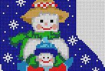 Perler julesokker