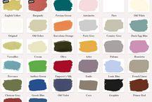 Farby na maľovanie a nábytok